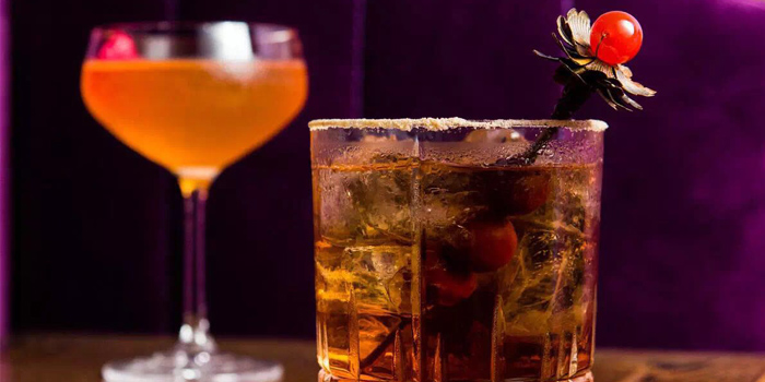 Drink of Lychee located on Fuxing Xi Lu, Xuhui, Shanghai