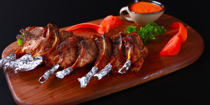 Food of 1001 Nights Restaurant located on Hengshan Lu, Xuhui , Shanghai