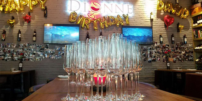 Indoor of Dionne Wines located in Xuhui District, Shanghai