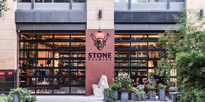 OUT-DOOR of Stone Brewing Tap Room Shanghai located in Changning District, Shanghai,