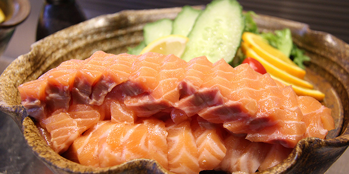Salmon from Tops & Terrace located in Xuhui, Shanghai