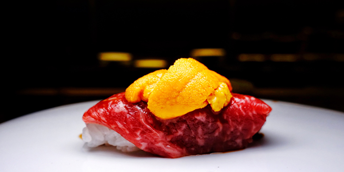 Sashimi of UMI Restaurant & Terrace Located in Jing