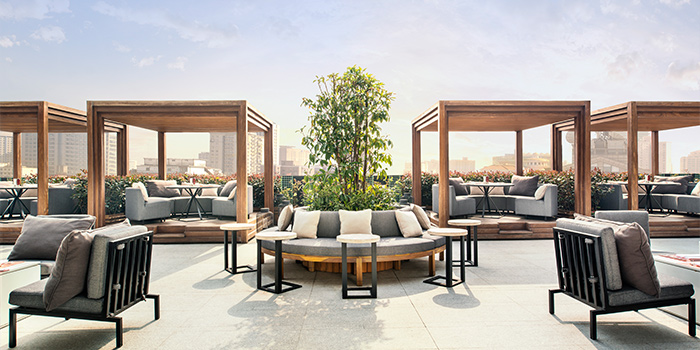 Terrace from Tops & Terrace located in Xuhui, Shanghai