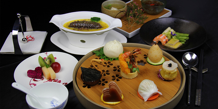 Dim Sum of Twelve Hengshan located in Xuhui, Shanghai