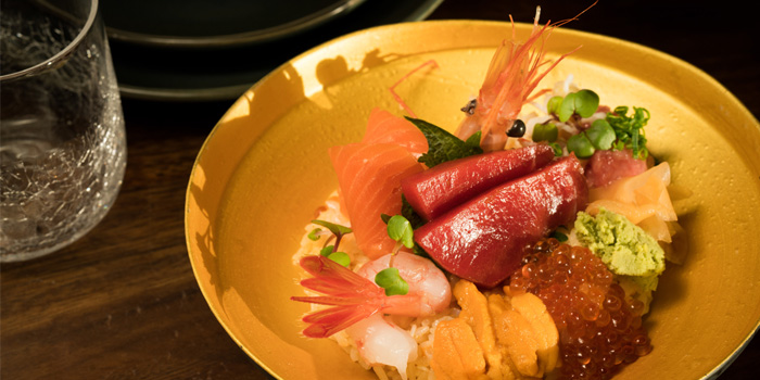Food of UMI Restaurant & Terrace Located in Jing
