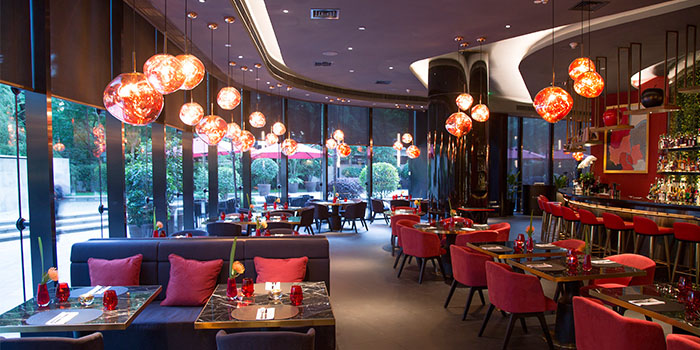 Indoor of LeSalonde Joël Robuchon(Reél Mall) located in Jing