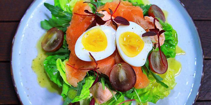Salmon Salad from Husk in Jing