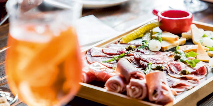 Cold Cuts from Uva wine bar in Jing