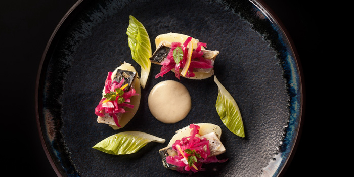 Appetizer of Oxalis located in Huangpu, Shanghai