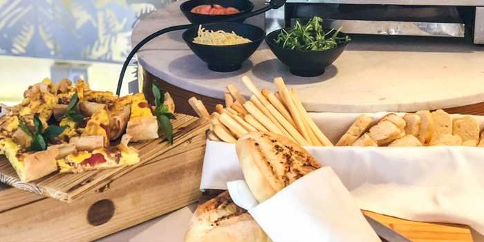 Bread of Isola Italian Bar + Grill located in Pudong, Shanghai