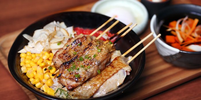 Grill of De Carbon Bar · Robata Grill located in Jing