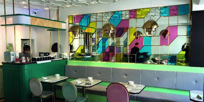 Indoor of Man Long Chun located in Xuhui, Shanghai