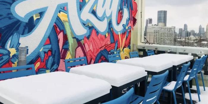Outdoor of Azul Tapas & Lounge located in Huangpu, Shanghai