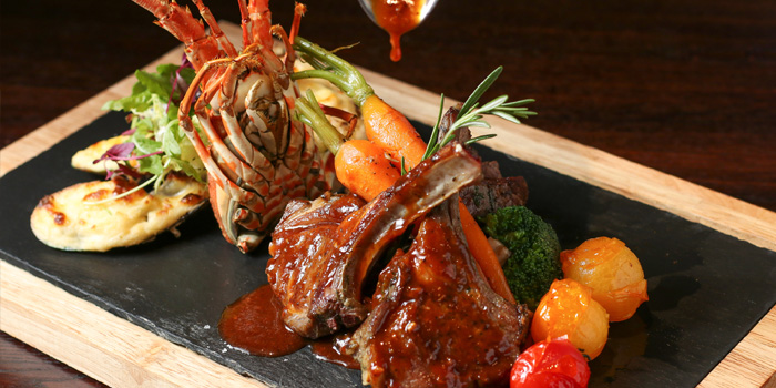 Surf and Turf of KIWIANA (EXPO) located in Pudong, Shanghai