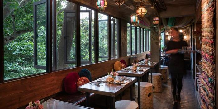 Indoor of Ginger Modern Asian Bistro located in Xuhui, Shanghai