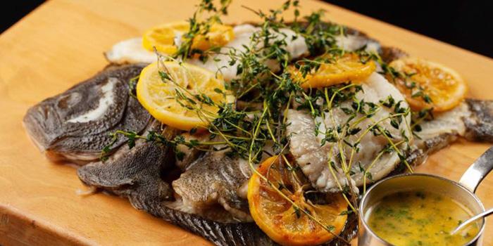 Fish of VUE Restaurant in The Bund, Shanghai