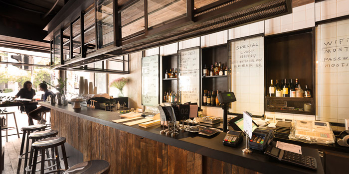 Indoor of Most Restauranet & Bar located in Xuhui, Shanghai
