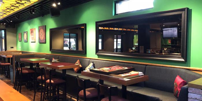 Indoor of Kebabs On The Grille Indian Cuisine (Laowaijie) located in Minhang, Shanghai