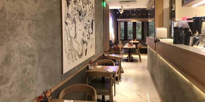 Indoor of Ichiryuan located in Jing