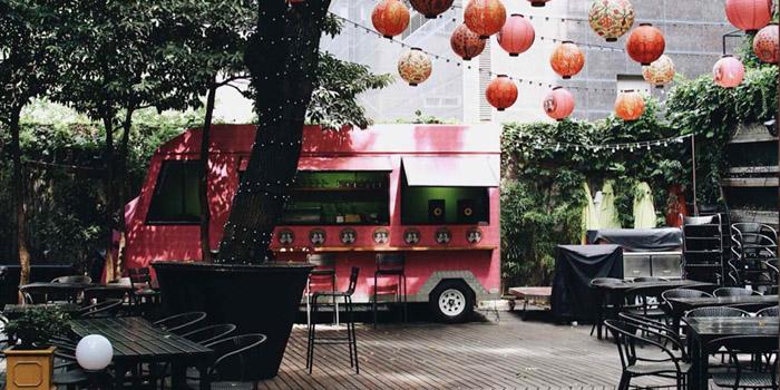 Outdoor of Dao Jiang Hu located in Xuhui, Shanghai
