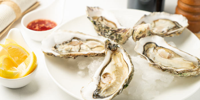 Oyster of Reve Kitchen located in Minhang, Shanghai