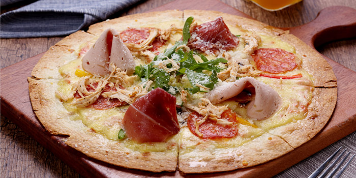 Pizza of KIWIANA Sports Bar & Kitchen located in Xuhui, Shanghai