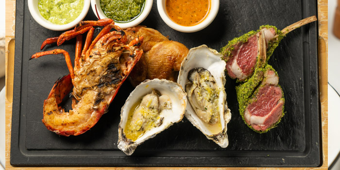 Platter of Reve Kitchen located in Minhang, Shanghai