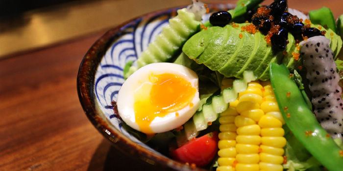 Salads of Most Izakaya located in Jing
