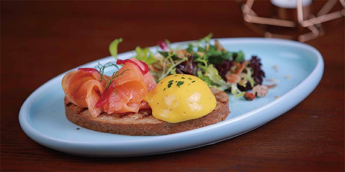 Eggs Benedict from Mia Fringe Dining & Lounge located in Huangpu, Shanghai