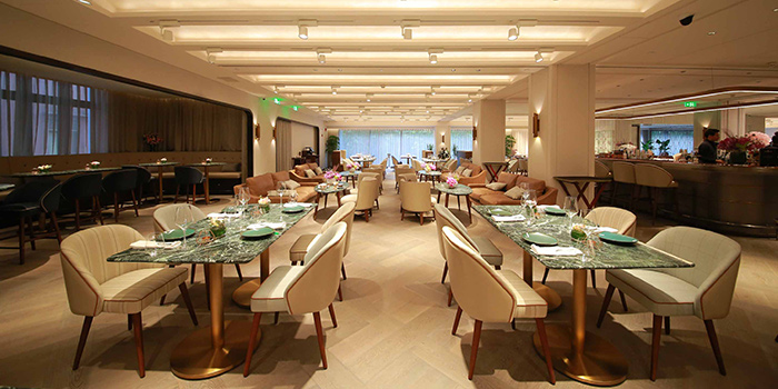 Interior of Mia Fringe Dining & Lounge located in Huangpu, Shanghai