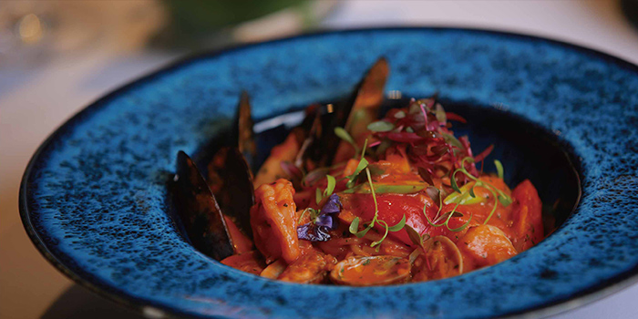 Seafood Pasta from Mia Fringe Dining & Lounge located in Huangpu, Shanghai