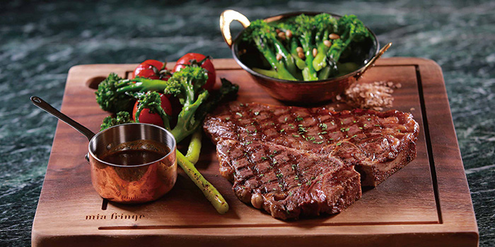 Steak from Mia Fringe Dining & Lounge located in Huangpu, Shanghai
