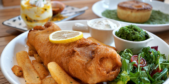 Fish and Chips of Pie Society (Canteen Jing
