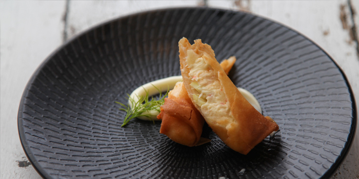 Spring Roll of Roosevelt Prime Steakhouse (Ruijin Intercontinental Hotel) located in Huangpu District, Shanghai