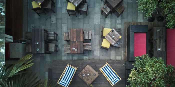 Outdoor of Lychee located on Fuxing Xi Lu, Xuhui, Shanghai