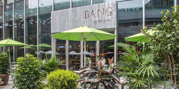 Outdoor of Bang by mr willis (LCM) located in Pudong, Shanghai