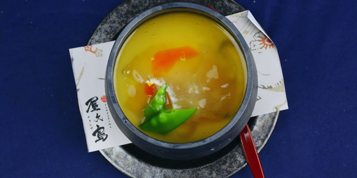 Steamed Egg of Yakushima (Oyado Hotel) located in Putuo, Shanghai