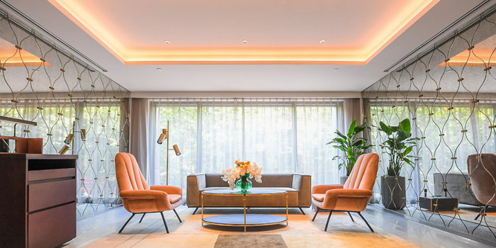Indoor of  of Mia Fringe Dining & Lounge located in Huangpu, Shanghai