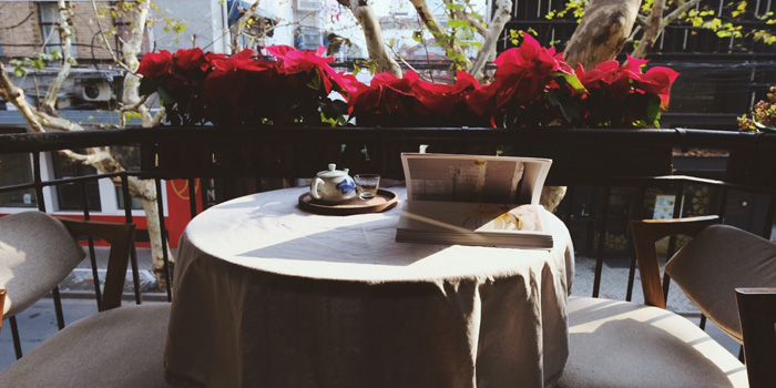 Outdoor of Azabu Dining located in Huangpu, Shanghai