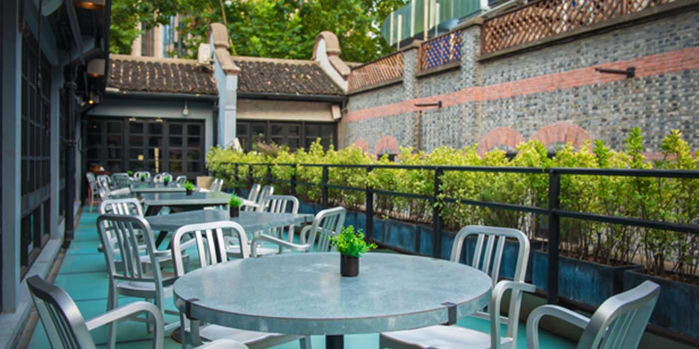 Outdoor of Va Bene located in Huangpu, Shanghai