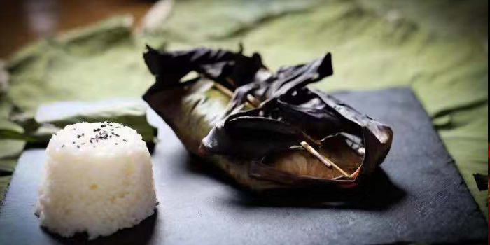 Rice of Lychee located on Fuxing Xi Lu, Xuhui, Shanghai