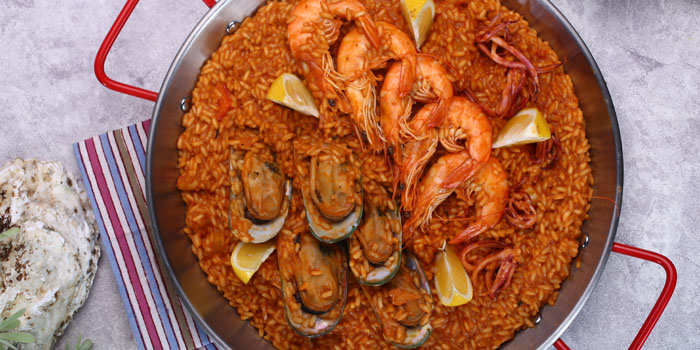 Seafood of The Purple Garlic Tapas located in Pudong, Shanghai