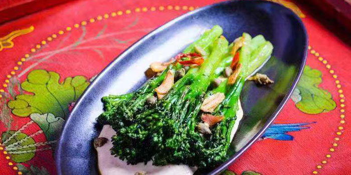 Vegs of Lychee located on Fuxing Xi Lu, Xuhui, Shanghai