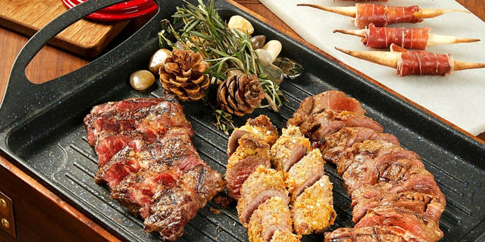 Grill of FOGO Rooftop Bar & Restaurant located in Huangpu, Shanghai