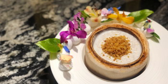 Pudding of VENU Restaurant (Pullman Shanghai Jing An) located in Jing