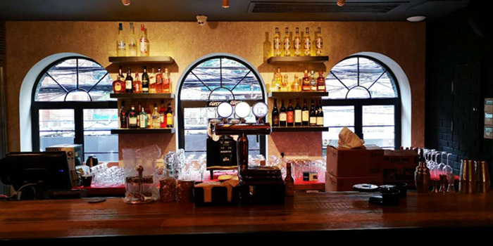 Bar of Pistolera Mexican Cantina (Nanyang Lu) located in Jing