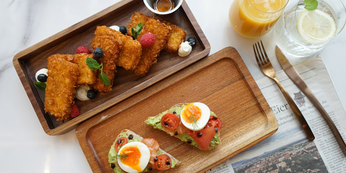 Brunch of Bright 919 located in Jing
