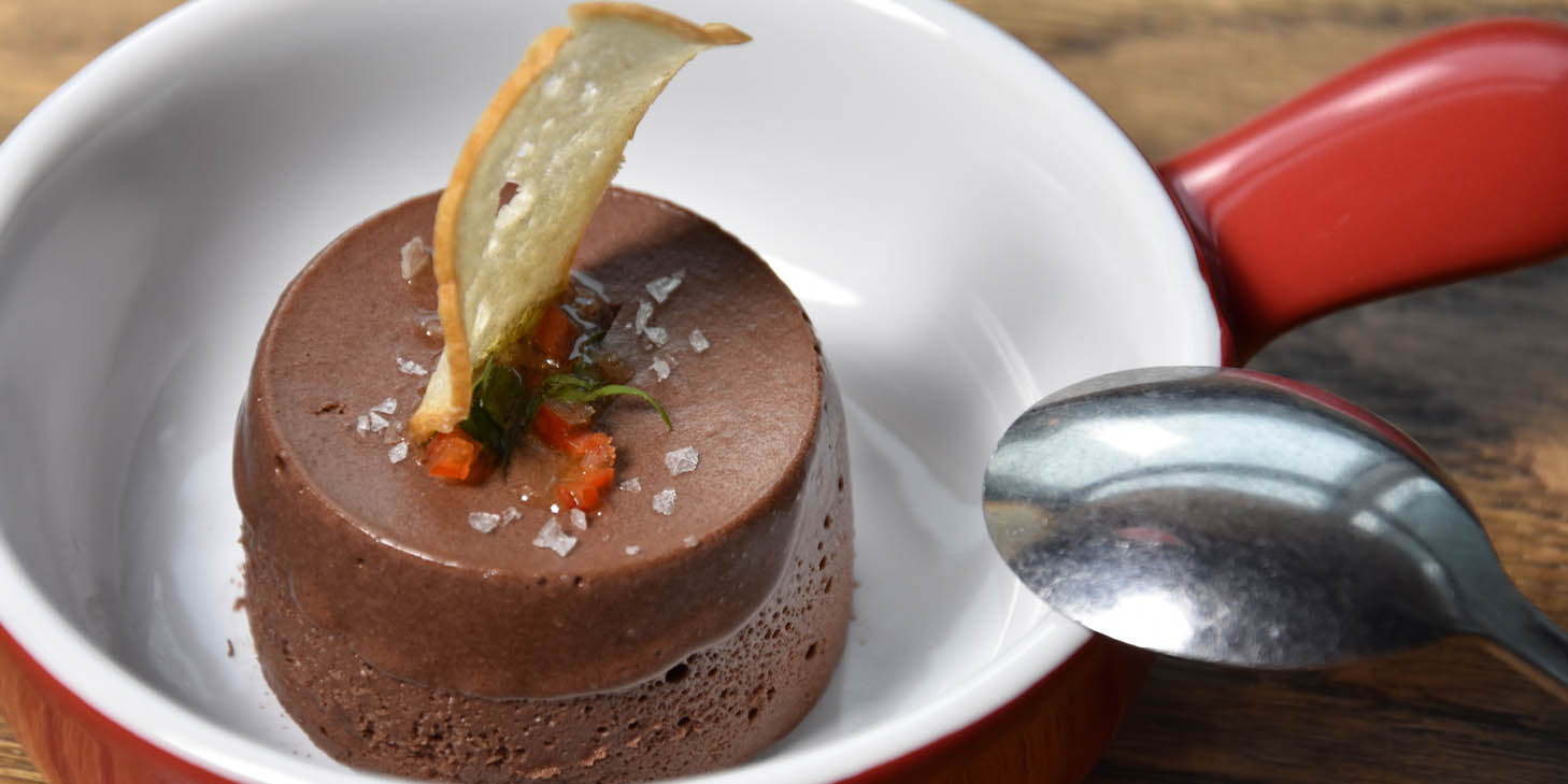 Chocolate Mousse of El Bodegon (Panyu Lu) located in Changning, Shanghai