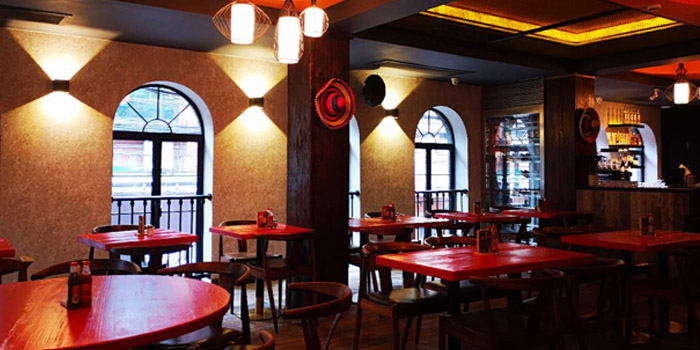 Indoor of Pistolera Mexican Cantina (Nanyang Lu) located in Jing