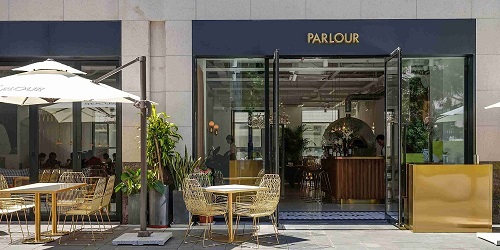 Outdoor of Parlour located in Changning, Shanghai
